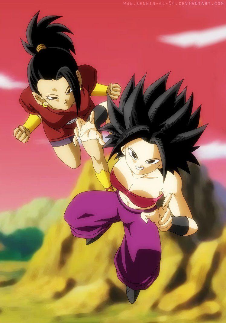 Kale And Caulifla Dragon Ball Super By Sennin Gl 54 Dragonball Z