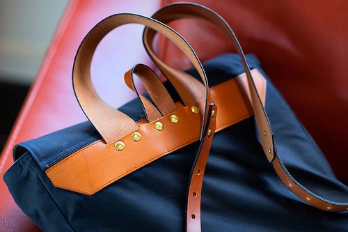 Southern Field Industries Waxed Rucksack by Nathan Branch, via Flickr