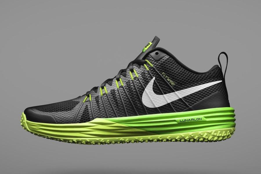 2017 Nike Metcon 1 BlackVoltWhite Women's Nike Shoes
