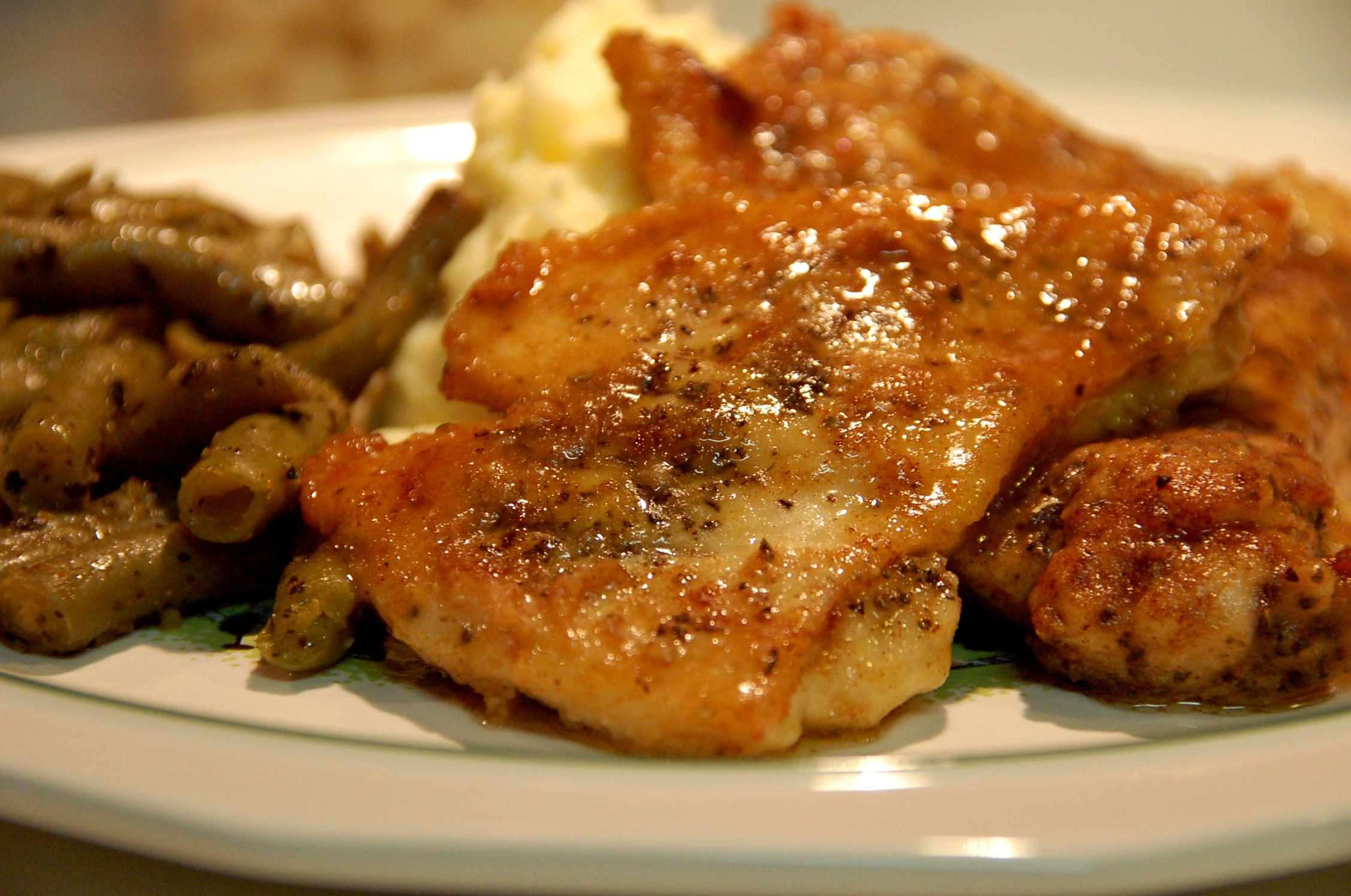recipe: chicken vermouth cream sauce [17]