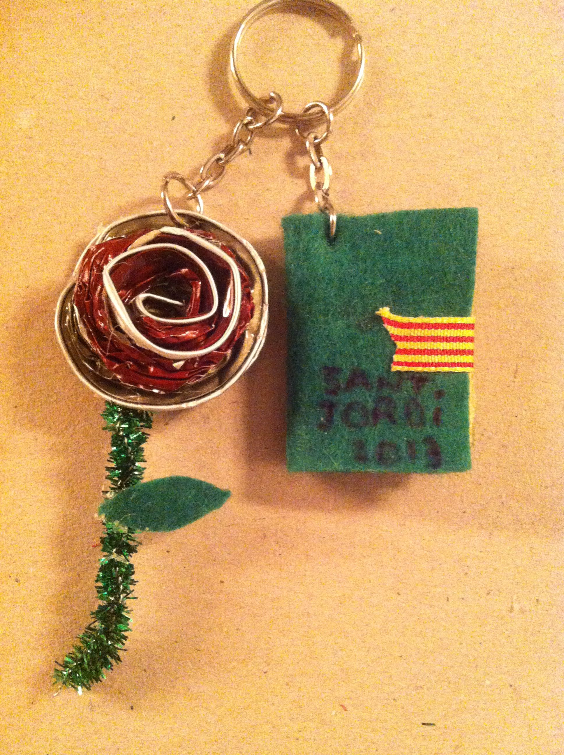 Rosa de Sant Jordi - clauer