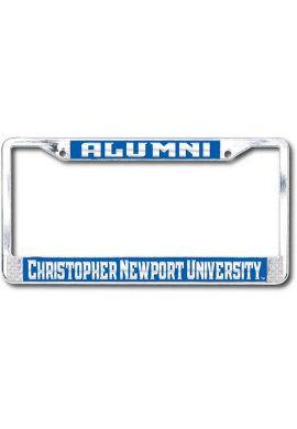 University of Virginia Alumni Chrome License Plate Frame