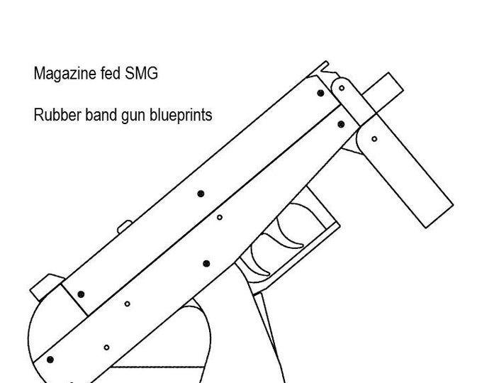 Pin on Rubber band gun