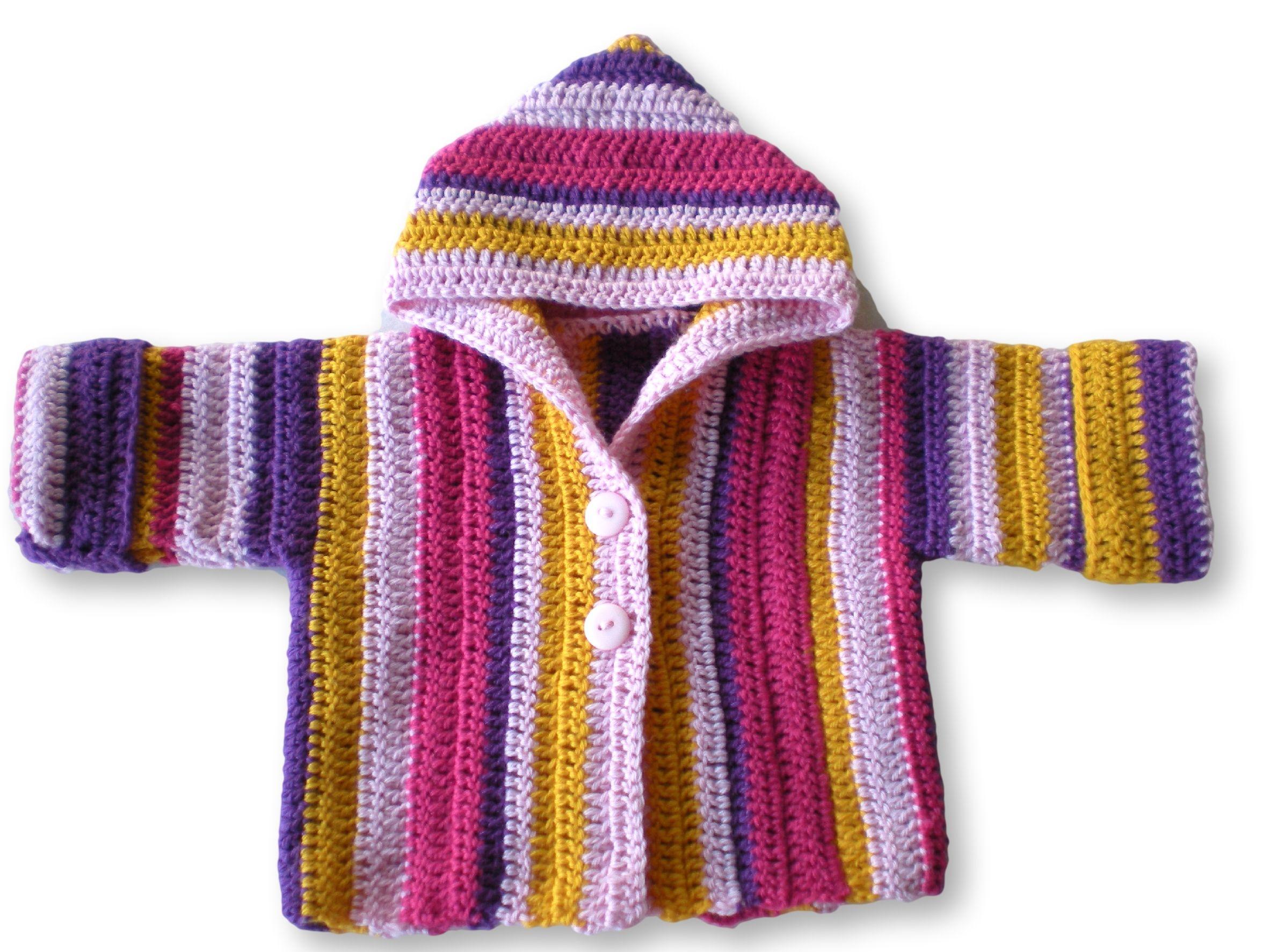 Babyjacke Häkelanleitung | Pinterest | Feste masche, Reichlich und ...