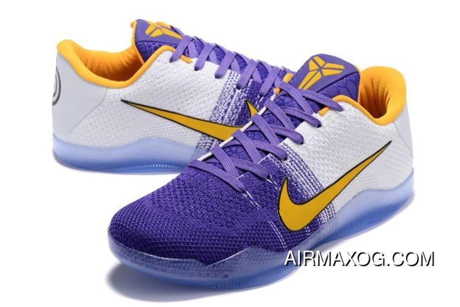 f4b5a519c04b 2019 的 Nike Kobe 11 White Purple Yellow Pe 2016 Copuon 主题