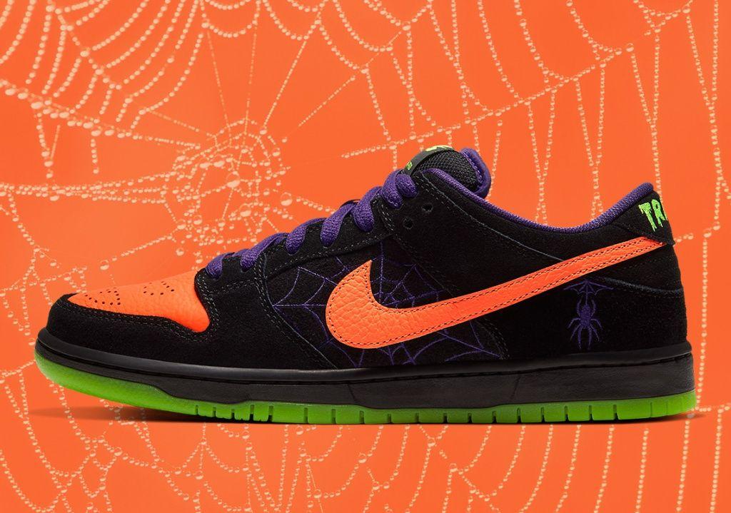 Nike Sb Dunk Low Night Of Mischief Di 2020 Nike Sb Nike Laba Laba