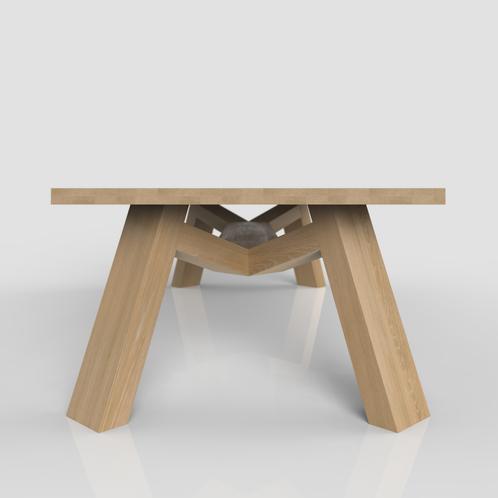 De Ronde Tafel Weert.Bruut Design Tafel Ontworpen Door Willem Van De Weert Bruut Design