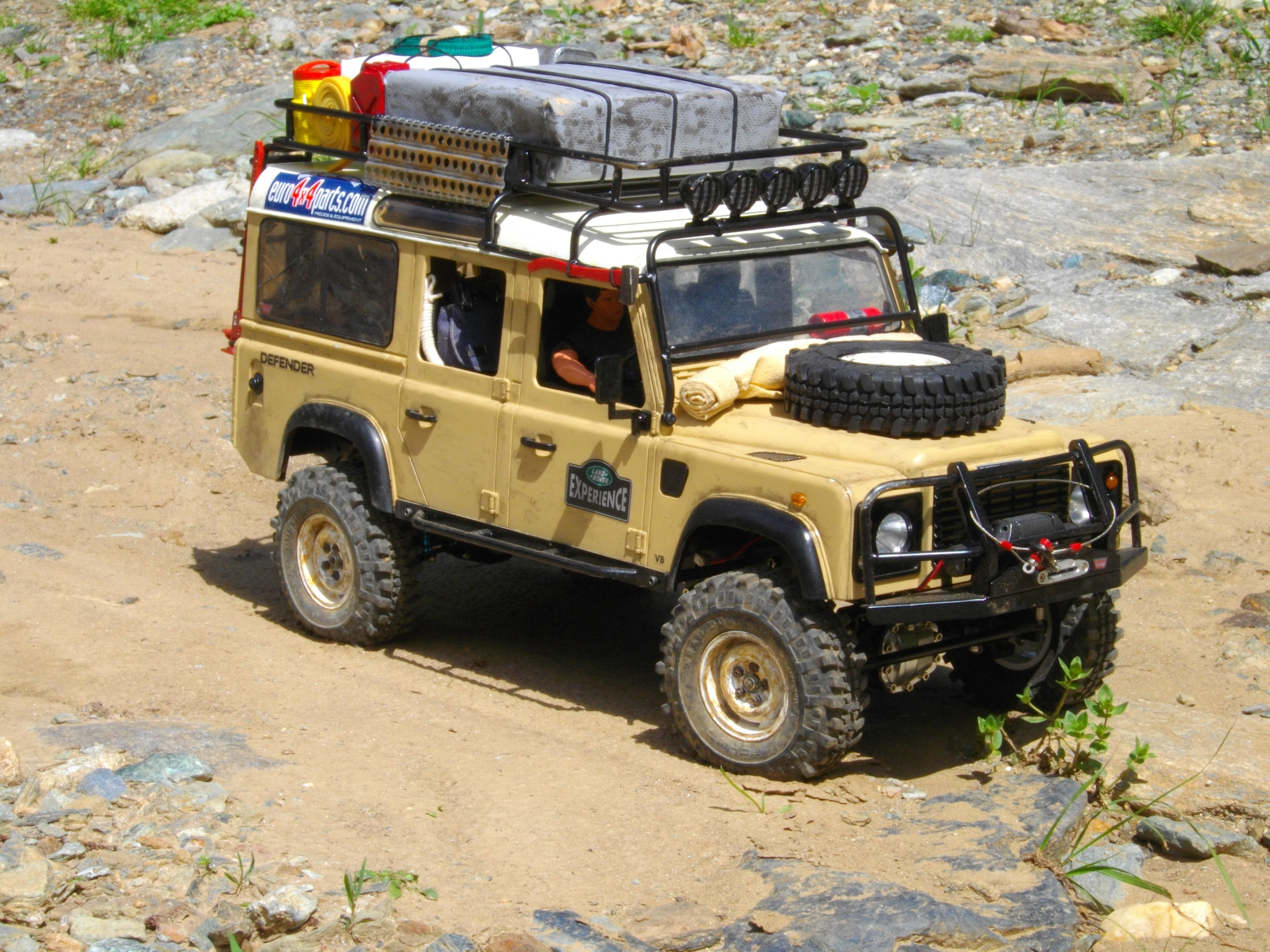 small resolution of gel nde 1 10 scale defender d110 vehicle kit