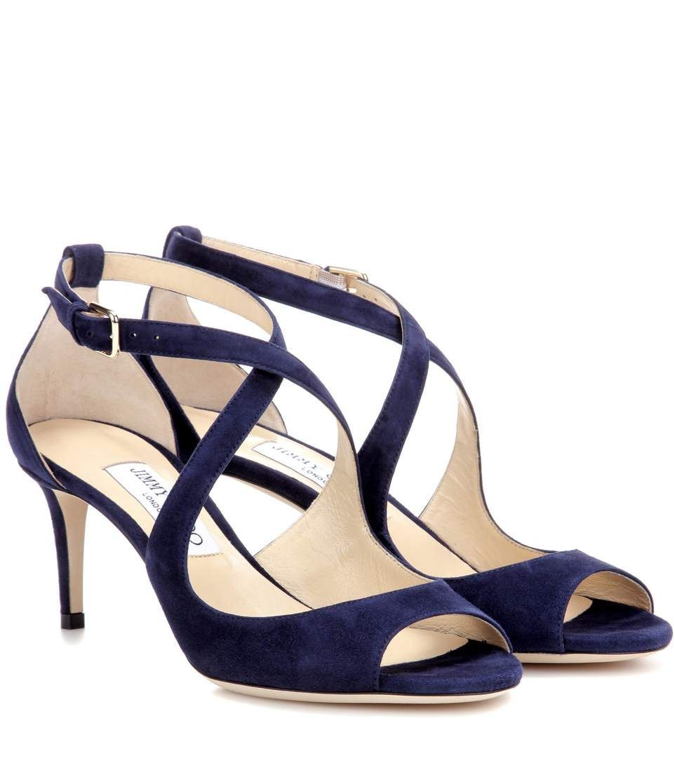 JIMMY CHOO Emily绒面革凉鞋.  jimmychoo  shoes  凉鞋  JimmyChooHeels ... c9ee3f91b84