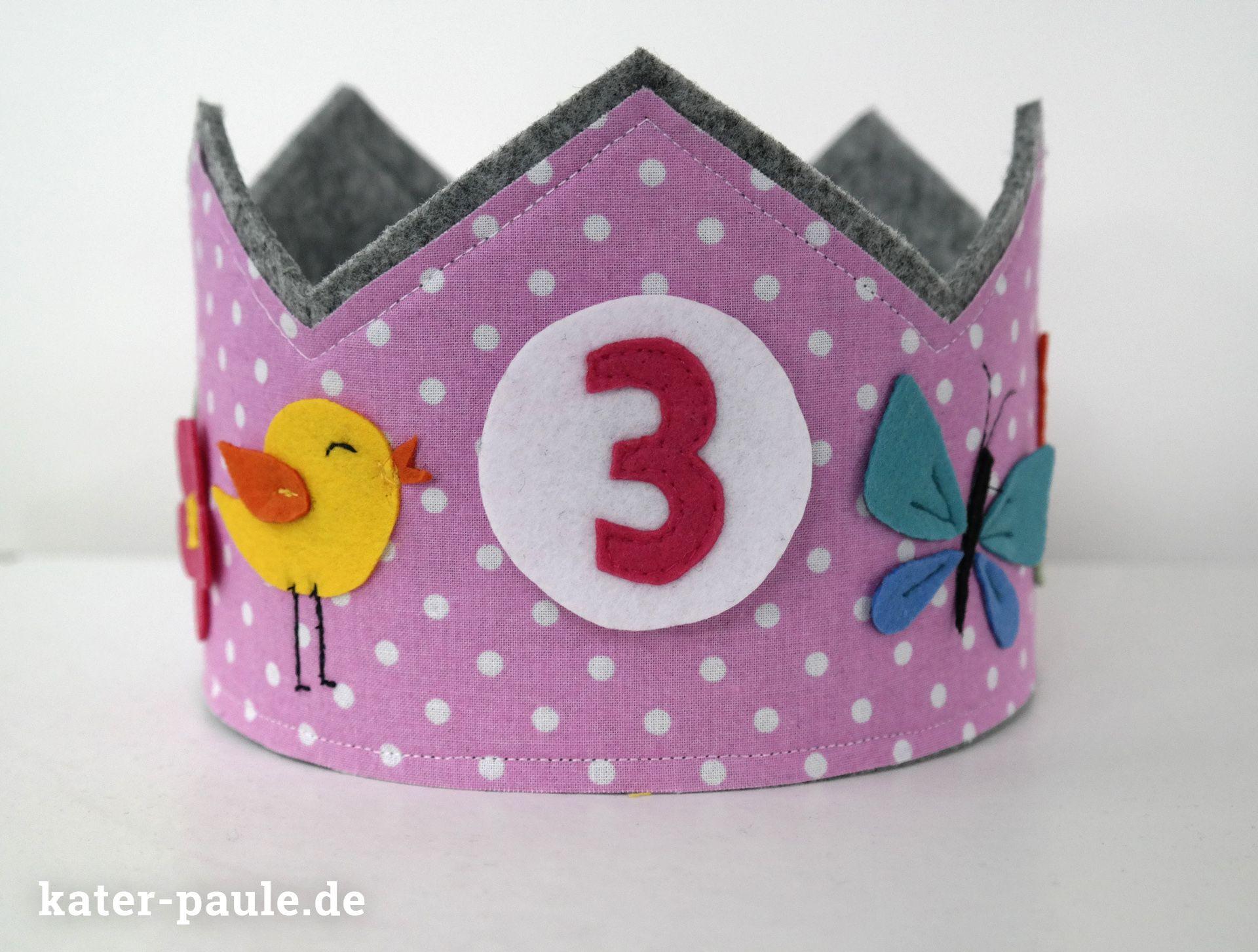 Kater Paule | Geburtstagskrone - Prinzessin für einen Tag