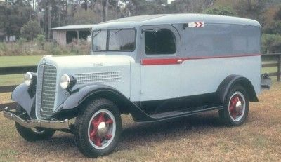 1936 Stewart Panel and Dump Truck