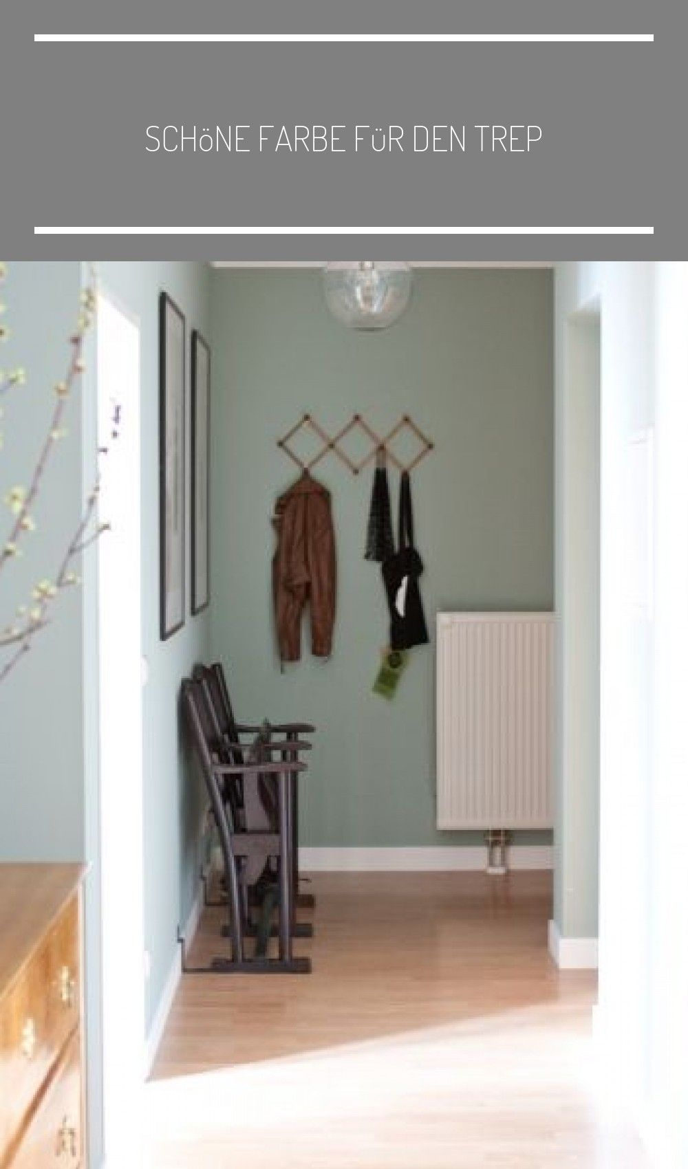 Schone Farbe Fur Den Trep In 2020 Hallway Designs Interior