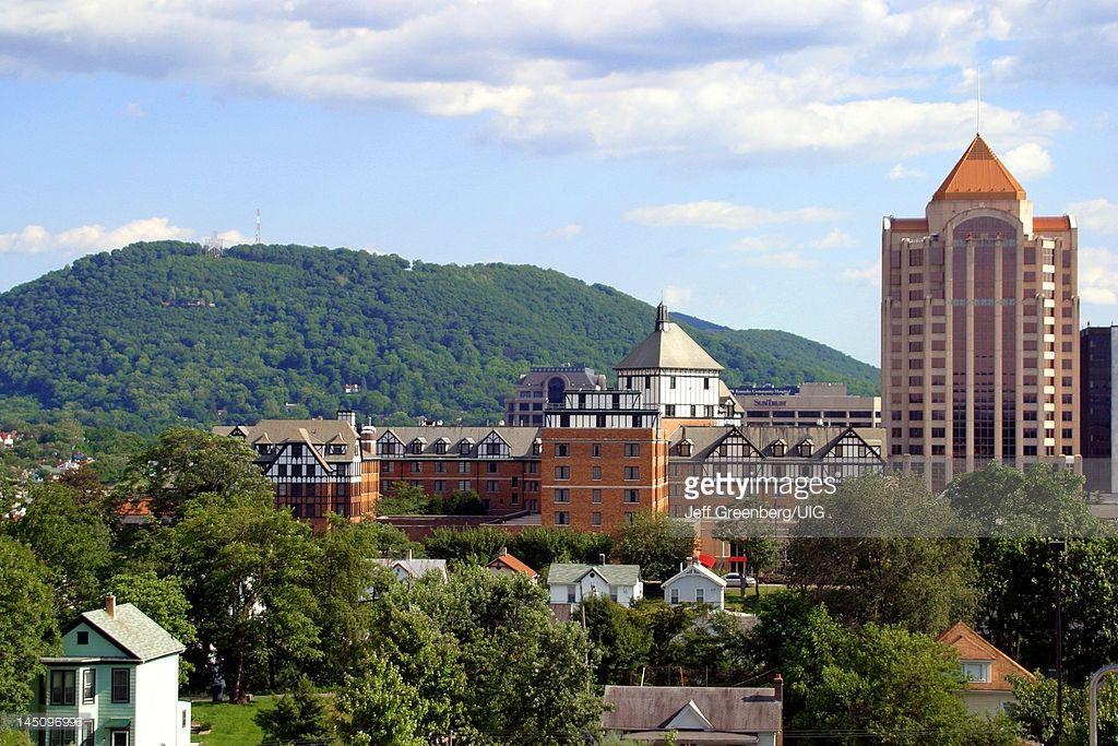 Stock Photo : Virginia, Roanoke, City Skyline