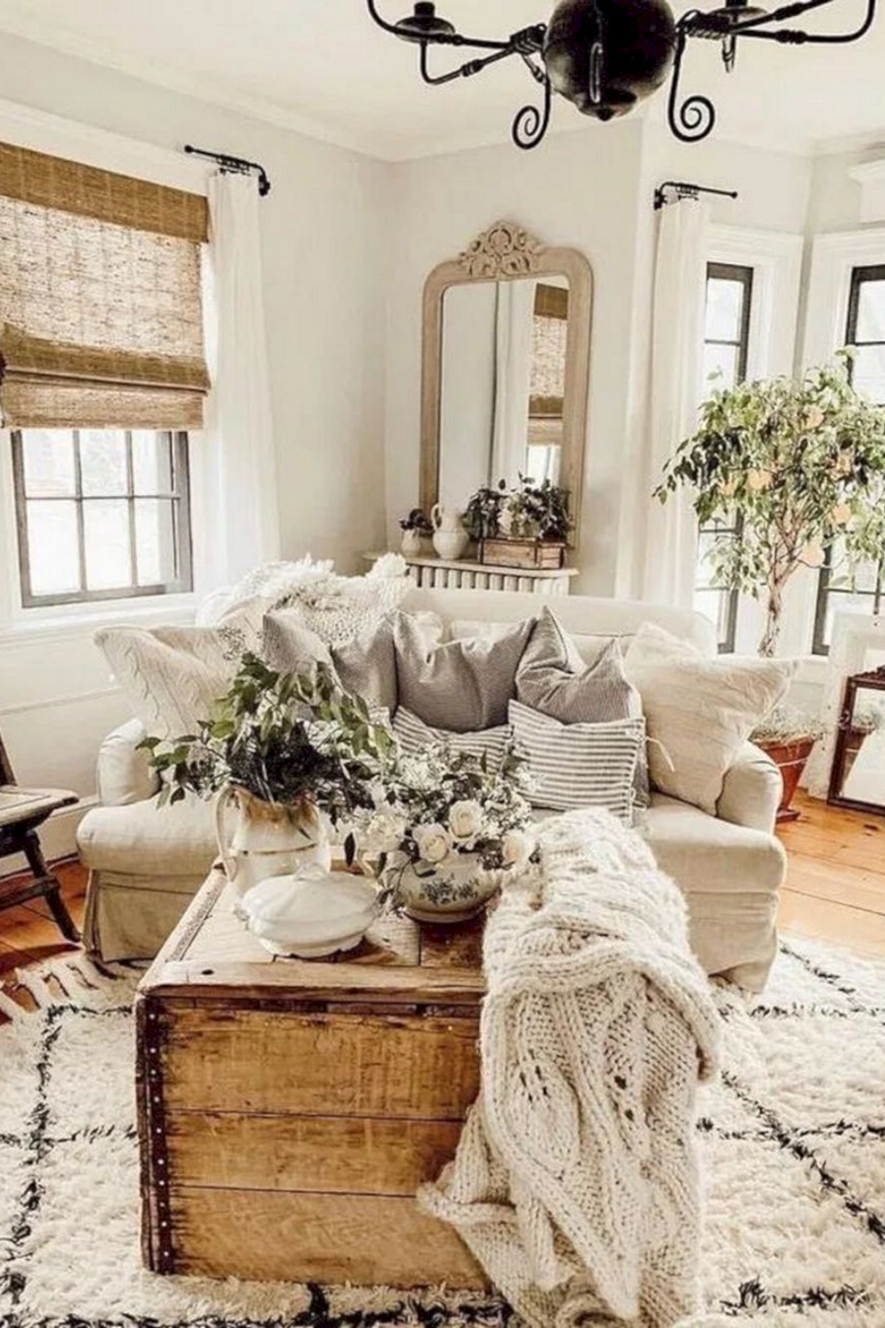 Best Attractive Farmhouse Living Room Design Ideas In 2020 With