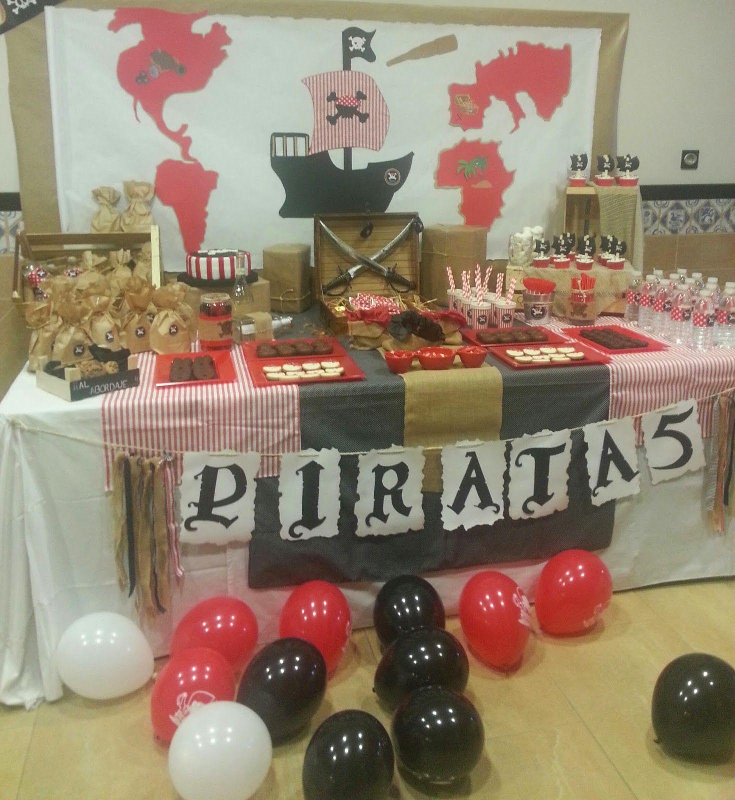 Ideas para una fiesta de piratas para ni os cumplea os - Ideas para cumple de ninos ...