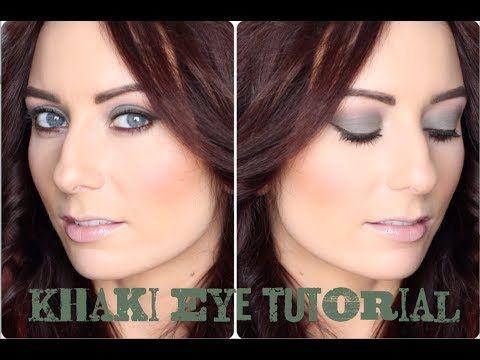 Khaki Green Eye Tutorial : Sigma Born to Be Palette - YouTube