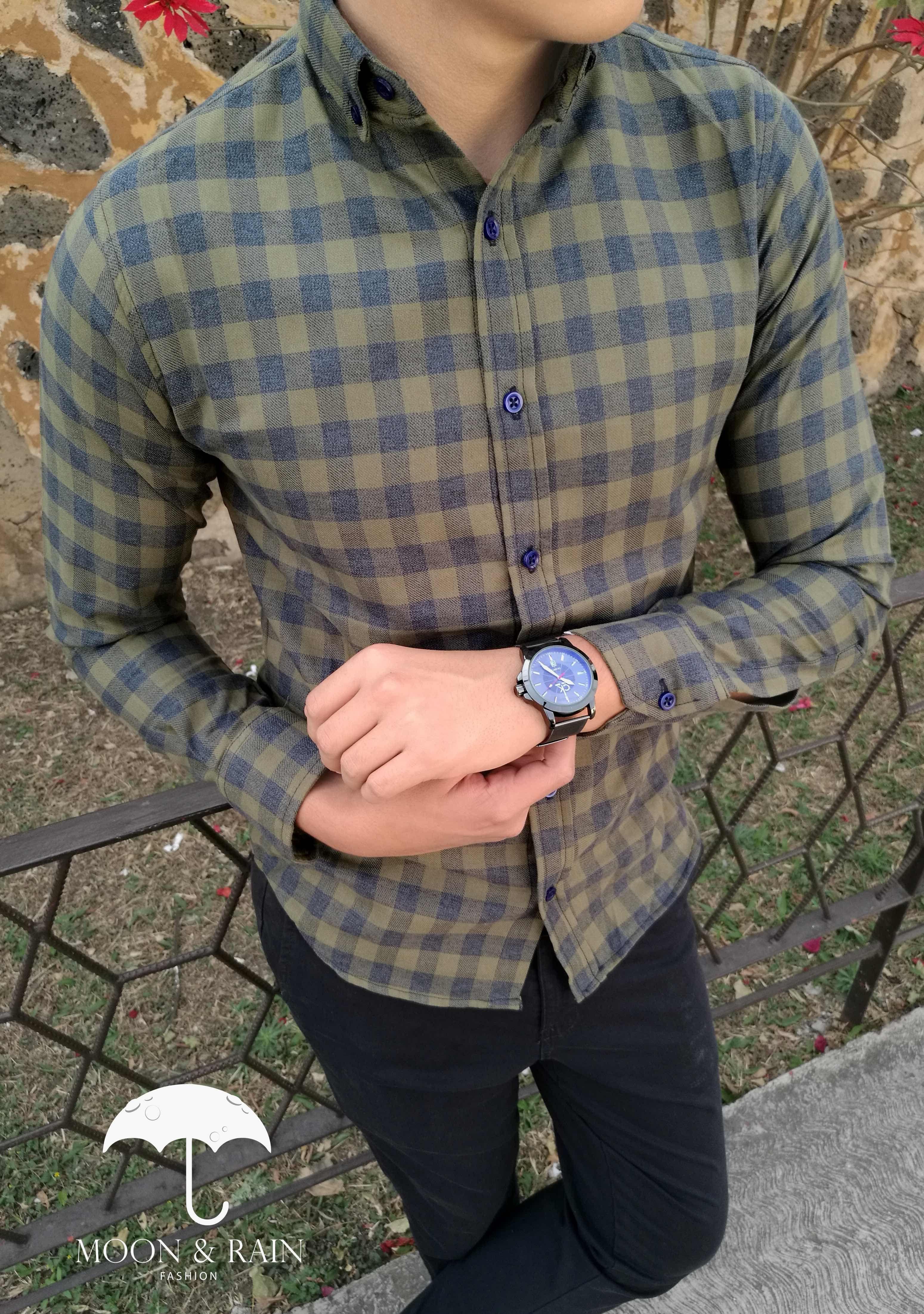 12b10ed081 Camisas de Cuadro para hombre exclusivo de Tiendas Platino