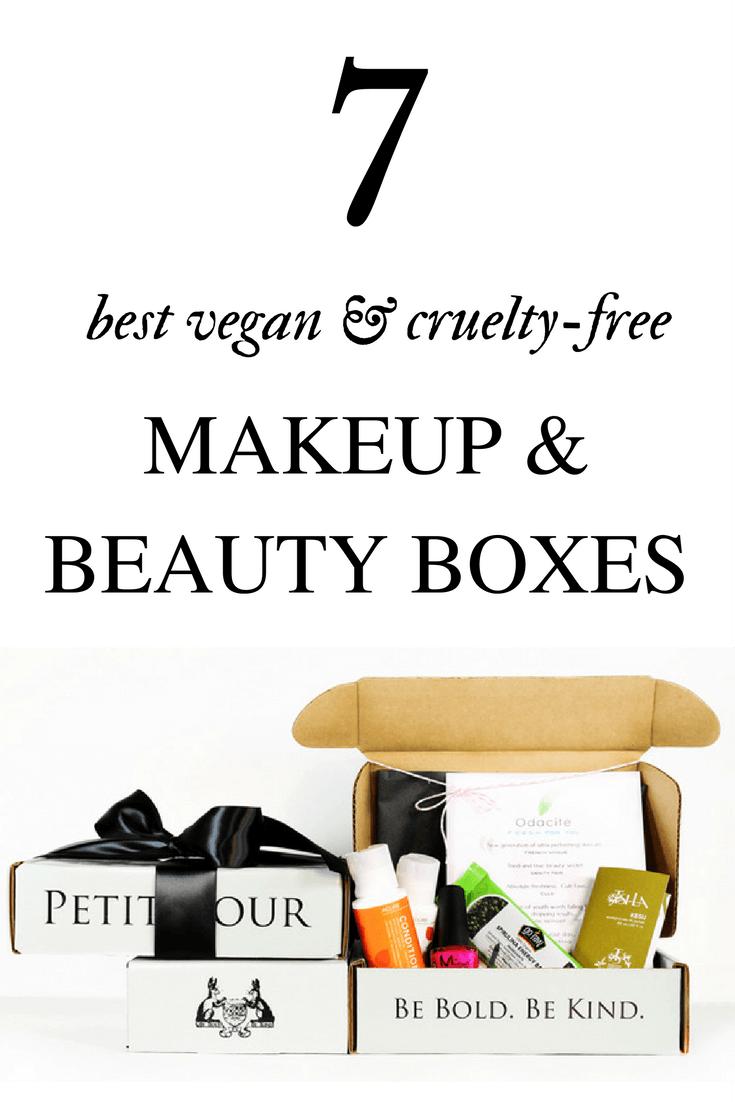 10 Best Vegan and CrueltyFree Makeup and Beauty Box