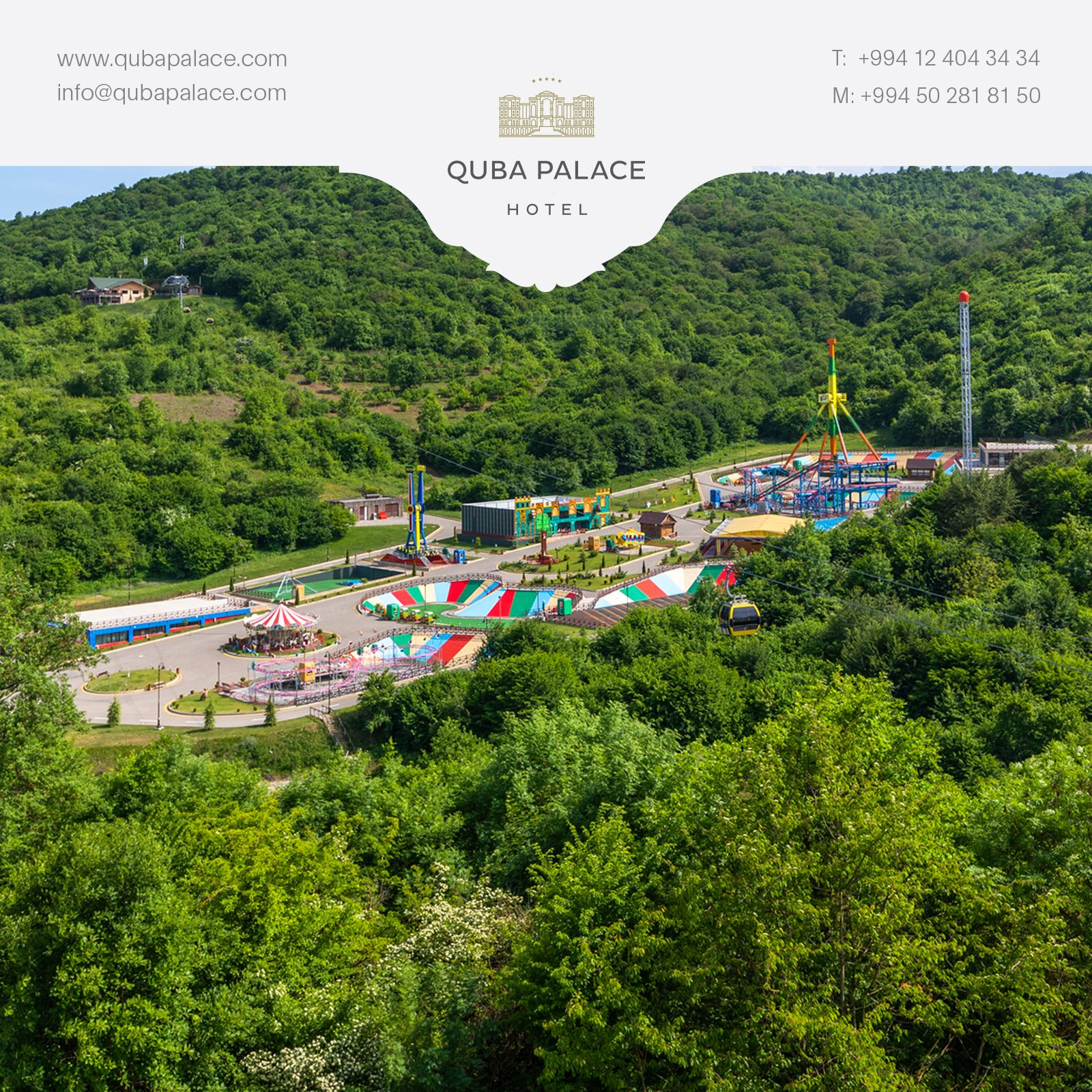 Quba Planet Is An Indispensable Place With 12 Types Of Carousel In Greenery For Those Who Want To Have Funny Time Hotel Funny Times Family Fun