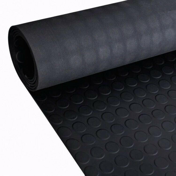 Rubber Floor Mat Anti Slip Dots Decals Swimming Saunas Foil Wrap Sheet Vinyl Ebay Rubber Flooring Rubber Floor Mats Flooring