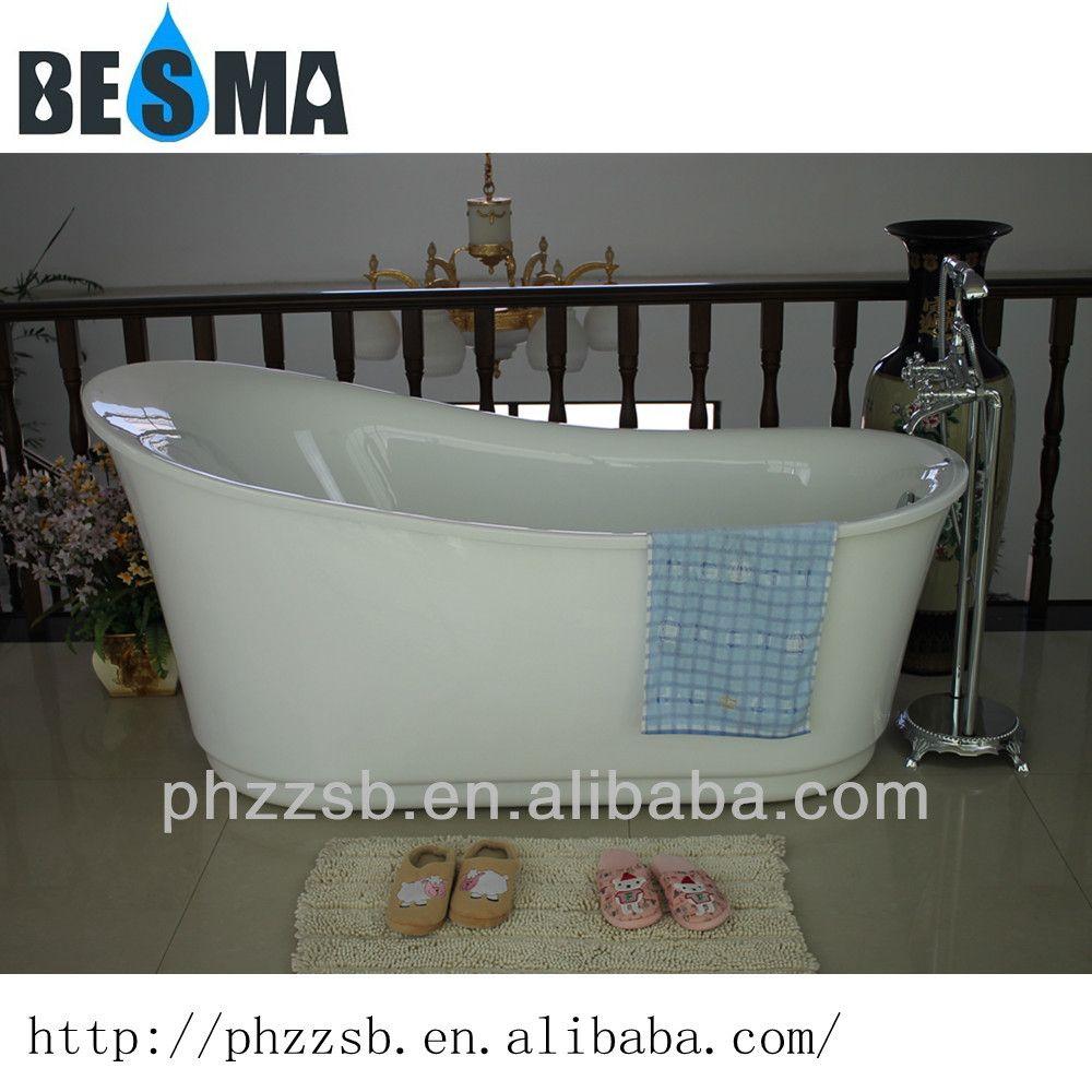 Source BESMA Portable Freestanding Custom Size Plastic Bathtub For Adultcheap Acrylic Bathtub B