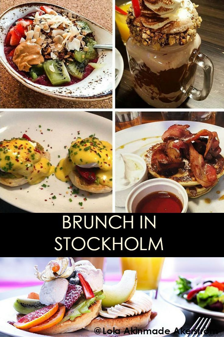 If you're looking for great brunch in Stockholm over the weekend, here are some suggestions worth checking out.