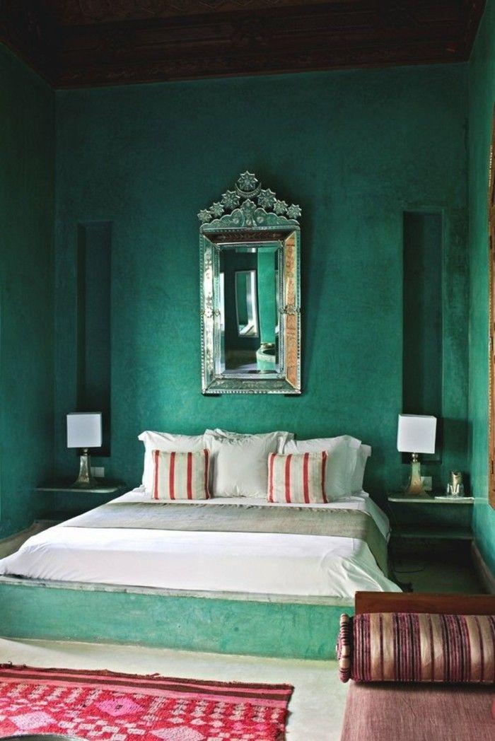 Schlafzimmer Wandfarbe Ideen In 140 Fotos! | Wandfarbe, Wandfarbe Grün Und Wandfarben  Ideen