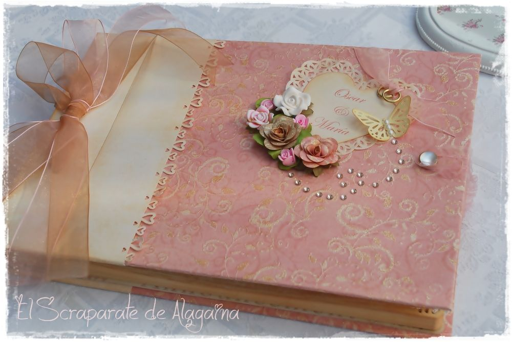 Diy como hacer un libro para firma buscar con google decoracion pinterest diy and crafts - Diy para bodas ...