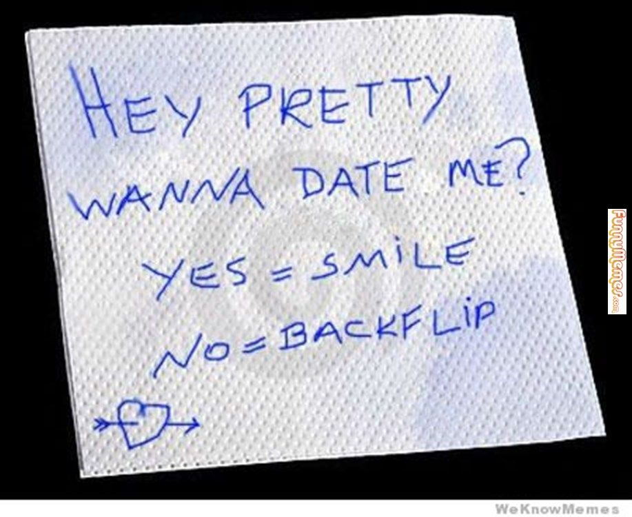 funny ways to say no to a date