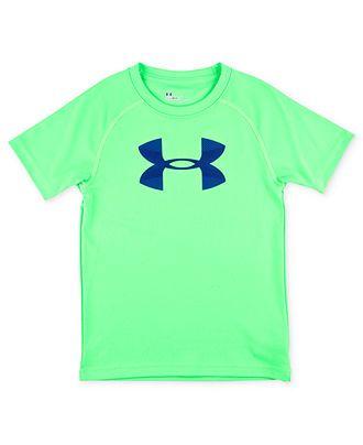 bbcfcaccd8 Under Armour Kids T-Shirt, Little Boys Big Logo Tee - Kids Boys 2-7 ...