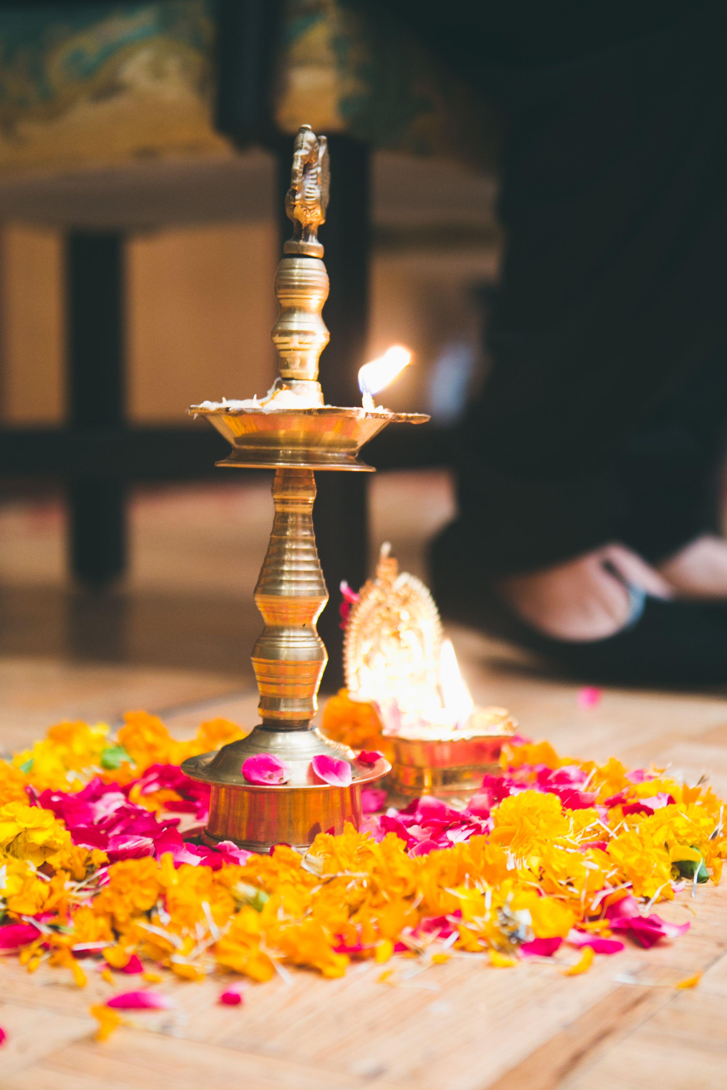 For An Auious Start Photozaapki Weddings Pooja