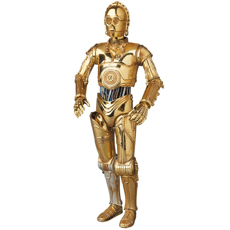"C3P-O 6"" MAFEX action figure"