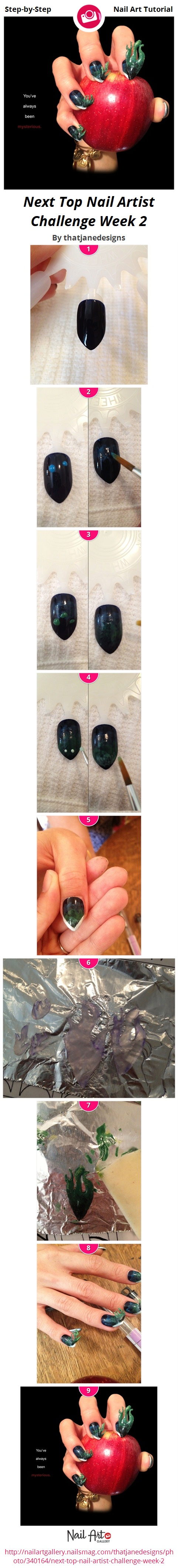 Next Top Nail Artist Challenge Week 2 by thatjanedesigns - Nail Art ...