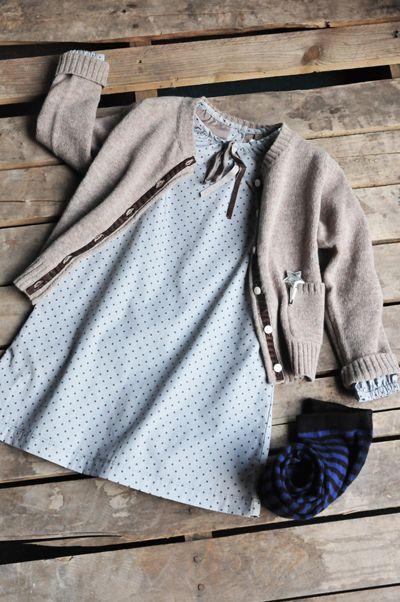 Anouk Dot Natalie Dress | Olive Juice
