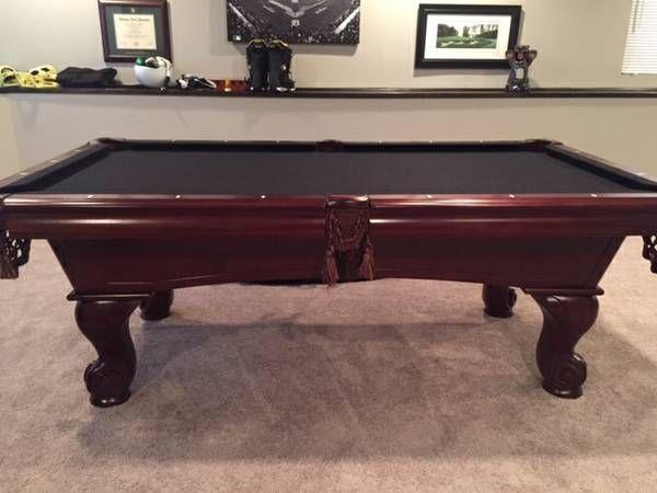 7u0027 Furniture Style American Heritage Slate Gorgeous Pool Table