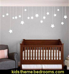 Hanging Stars - Wall Decal | I hope we have a girl someday ...