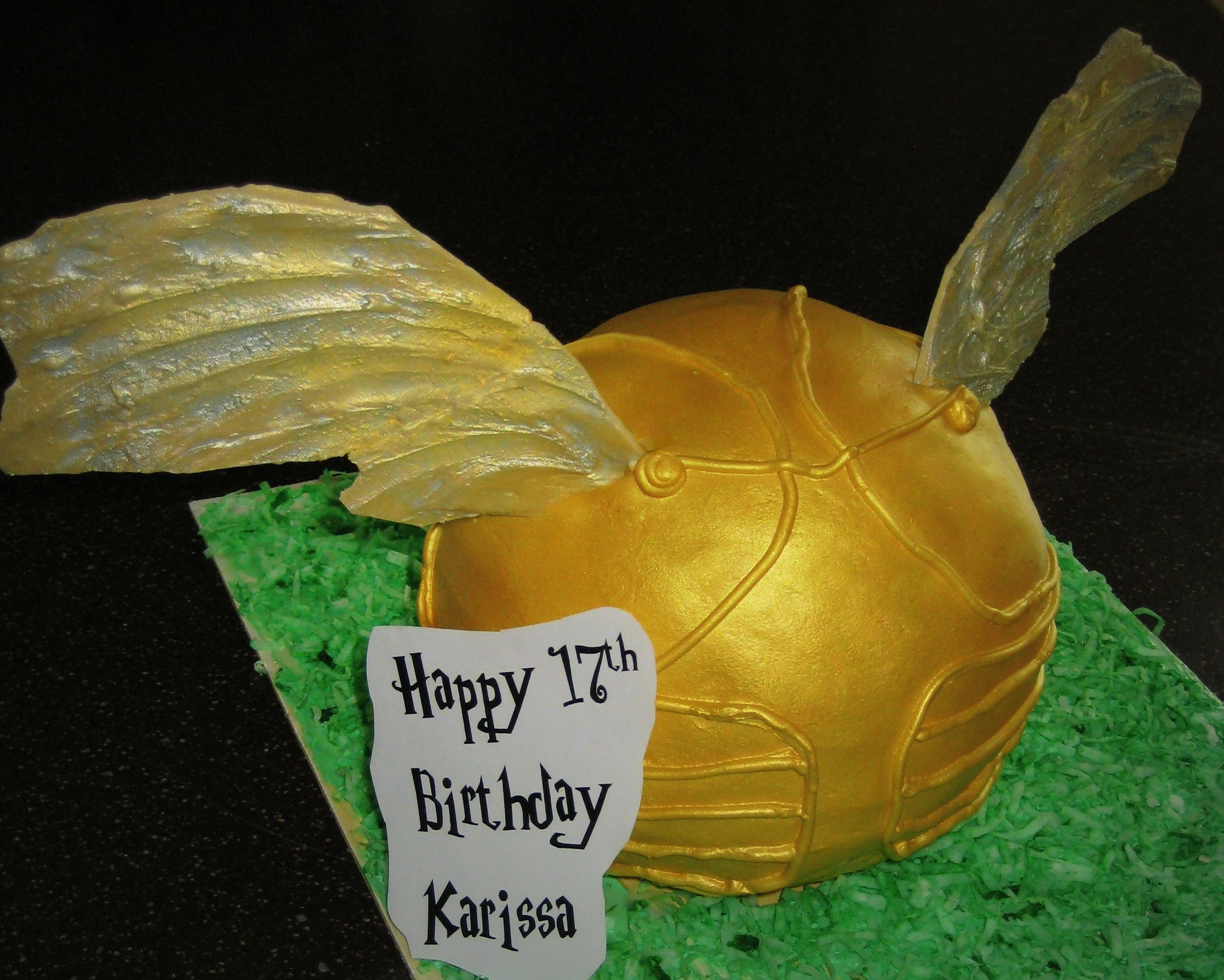 Golden Snitch Cake Pops Tastemade