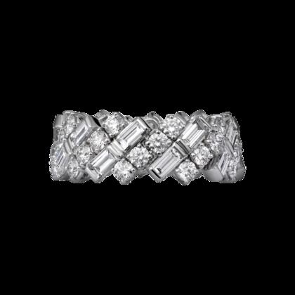 Wedding band - White gold, diamonds - Fine Wedding Bands for women - Cartier
