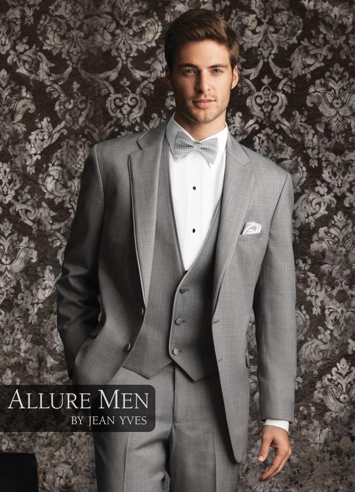 1.) Allure Men Heather Grey \'Bartlett\' Tuxedo | Men\'s Fashion ...