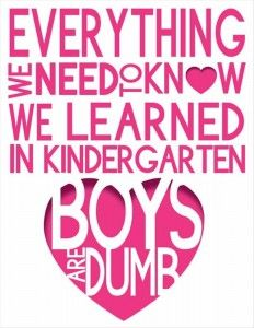 Valentines Day Quotes Funny Valentines Day Quotes Boys Are Dumbsee Girls We Were Right .