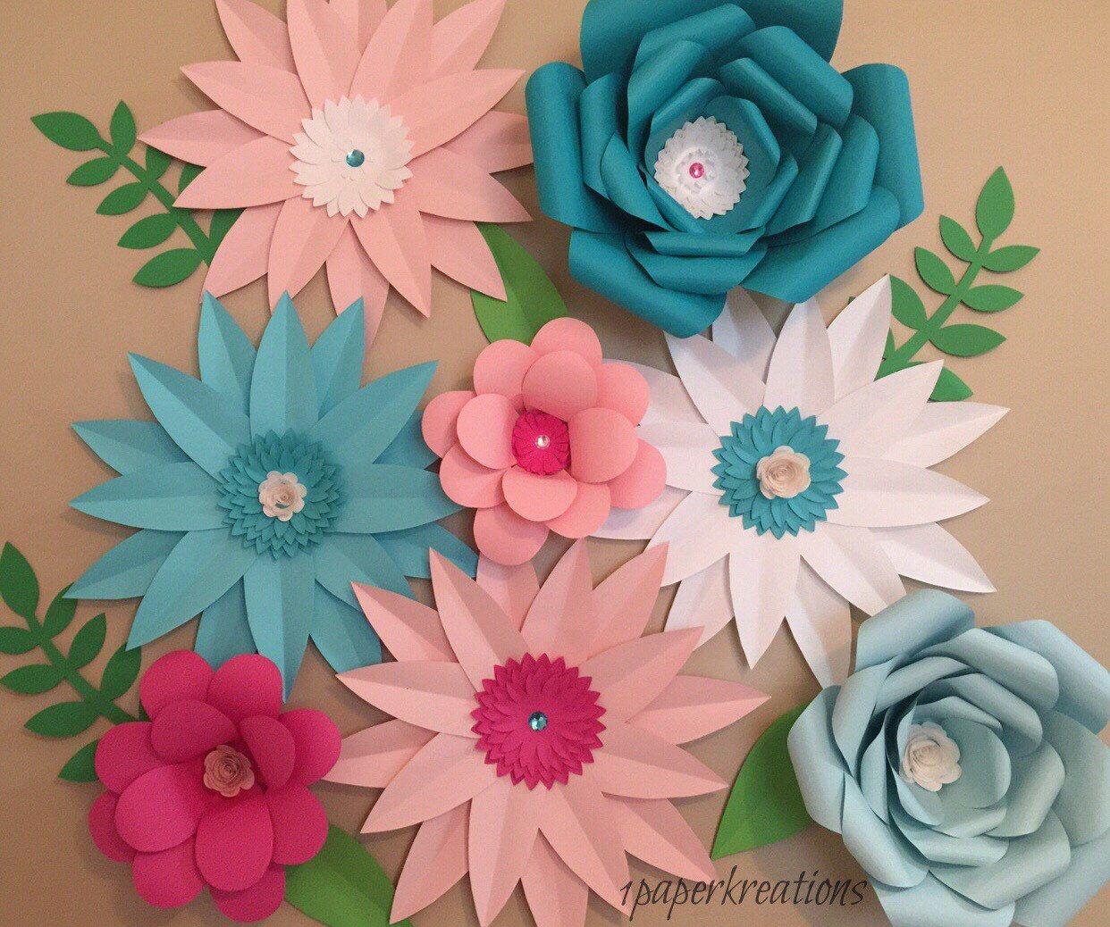 Large Paper Flower Backdrop  wallflowers paper flower wall paper