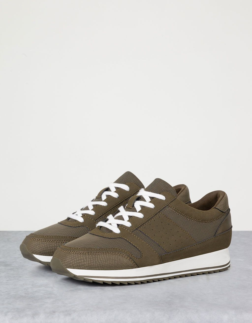 Bershka Serbia - Combined sole sports shoes
