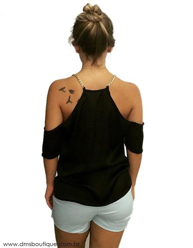 e1ae57818e blusa com alcinha de corrente e recorte nos ombros 1