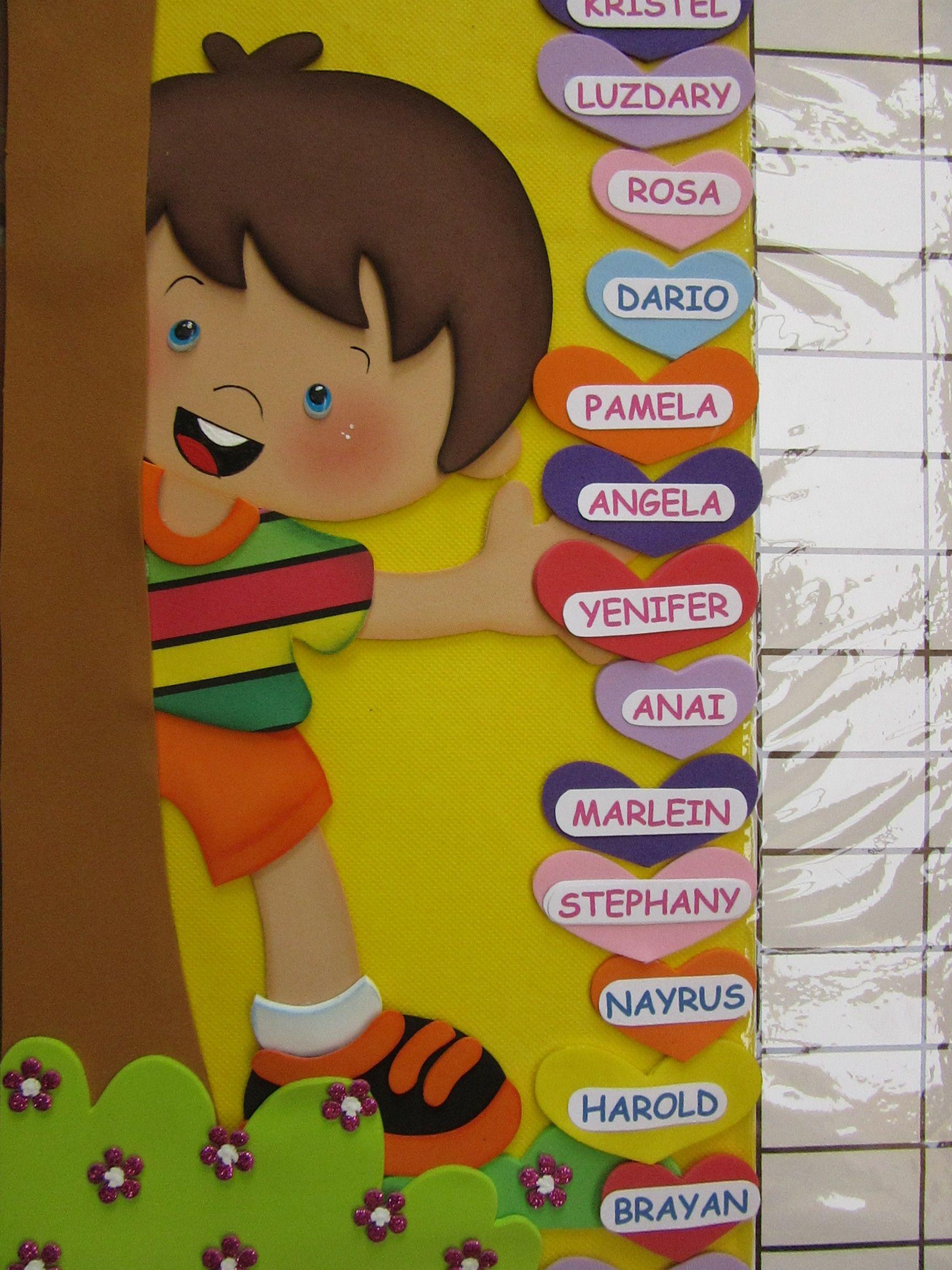 Pin de gladys caceres penayo en carteles de ambientaci n for Decoracion aula primaria