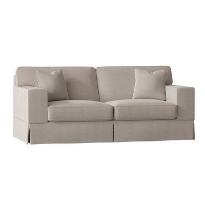"Wayfair Custom Upholstery™ Landon 80"" Square Arm Sofa | Wayfair"