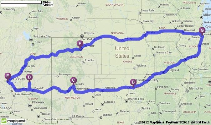 Driving Directions From Bradley Illinois To Bradley Illinois