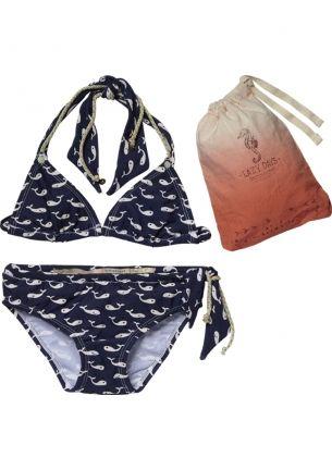 e232364a549 Wale Printed Bikini    Scotch R belle Allover Printed Bikini + Bag bij Eb