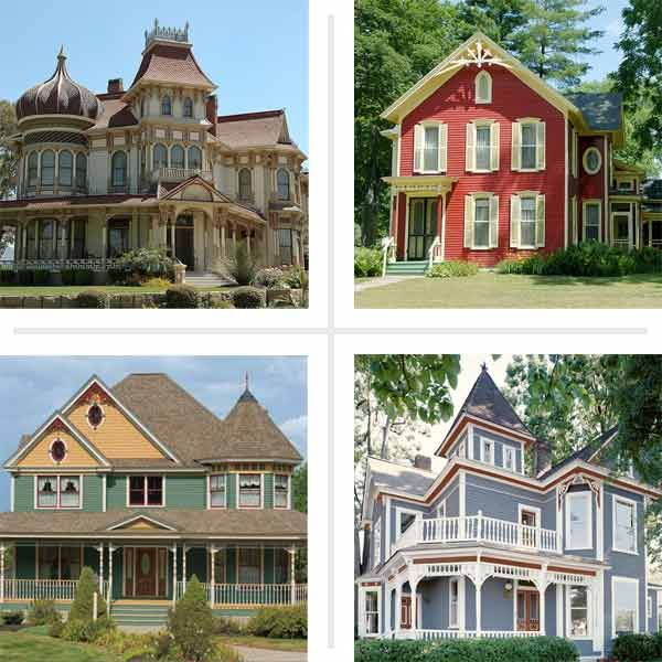 Paint color ideas for ornate victorian houses queen anne Victorian house front