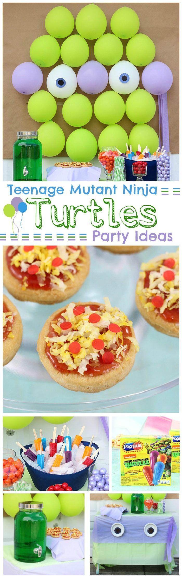 Teenage Mutant Ninja Turtles Party Ideas Mutant Ninja Turtles Party Teenage Mutant Ninja Turtles Party Teenage Mutant Ninja Turtle Birthday