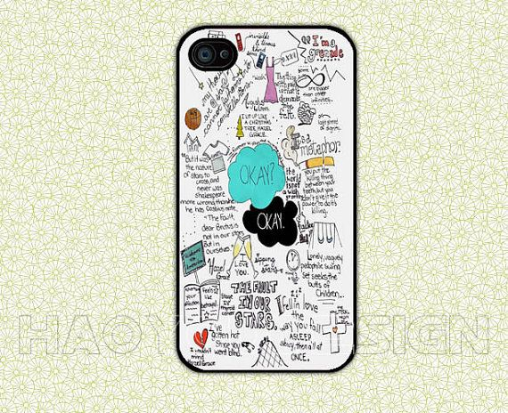 The Fault in Our Stars iPhone 4 Case The Fault in Our Stars iPhone 4 Hard Case cover skin case for iphone 4/4s case by haoyoudesign, $6.99